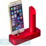 Док-станция COTEetCI Base1 Charging Cradle для Apple Watch & iPhone stand CS2045-MR Rose - Розовая - фото 21757