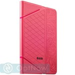 Чехол iBacks VV Structure Leather Case для iPad mini 3/ mini 2/ mini - Venezia (ip60077) Pink Розовый - фото 24011