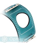 Ремешок кожаный COTEetCI W10 FASHION BAND (WH5212-BL-42) для Apple Watch 42мм Marine Blue - Голубой - фото 36762