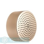 Портативная Bluetooth колонка Xiaomi Portable Round Box Speaker (FXR4039CN) Gold Золотистая ORIGINAL - фото 38808