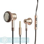 Наушники Xiaomi Mi 1More Jin Che headphones Gold Золотистые ORIGINAL - фото 38831