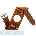 Ремешок кожаный COTEetCI W10 FASHION BAND (WH5212-KR-42) для Apple Watch 42мм Saddle Brown - Светло-Коричневый - фото 43997