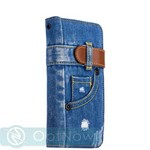 "Чехол-книжка XOOMZ для iPhone 8 Plus/ 7 Plus (5.5"") Denim Notebook Popular (XIP7042) джинсовый - фото 45549"