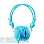 Наушники Hoco W5 Manno headphone (1.2 м) Blue Синии - фото 47150