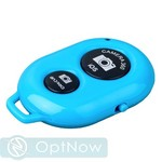 Фотопульт Bluetooth для iOS/ Android Remote Shutter Blue Голубой - фото 10504