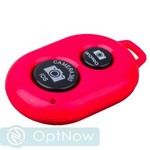 Фотопульт Bluetooth для iOS/ Android Remote Shutter Red Красный - фото 10512