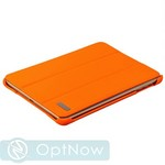 Чехол кожаный i-Carer Ultra-thin для iPad mini 3/ mini 2 genuine leather series (RID794or) оранжевый - фото 11053