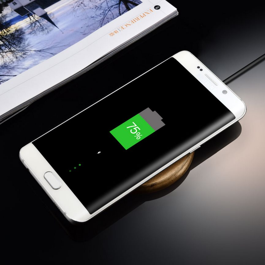 GENUINE LEATHER FAST WIRELESS CHARGING