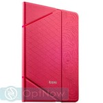 Чехол iBacks VV Structure Leather Case для iPad Air 2 - Venezia (ip60071) Pink Розовый - фото 23991
