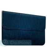 Защитный чехол-конверт i-Carer Genuine Leather Series для Apple MacBook Air 13 (RMA131blue) Голубой - фото 26222