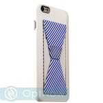 Накладка-подставка iBacks Bowknot Series PC Case для iPhone 6s Plus/ 6 Plus (5.5) (60334) White/ Stripes - фото 27695