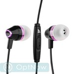 Наушники Hoco M4 Colorful Universal Earphone (1.2 м) с микрофоном Black - фото 31140