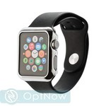 Чехол пластиковый COTEetCI Soft case для Apple Watch Series 3/ 2 (CS7031-TS) 42мм Серебристый - фото 40346